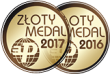 Médaille d'or au salon BUDMA / FIREPLACES à Poznań 2016 et 2017.